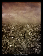 Tokyo City View (Japan) (Eric Rousset) Tags: voyage travel building japan architecture photoshop observation photography topf50 bravo asia view searchthebest cs2 sony cybershot adobe metropolis asie vue japon soe photomanipulated 2007 postprocessing dscf828 blueribbonwinner tokyocityview supershot magicdonkey outstandingshots abigfave colorphotoaward isawyoufirst superbmasterpiece goldenphotographer wowiekazowie diamondclassphotographer bratanesque theunforgetablepictures bbpslideshow piproduction ericrousset ericroussetphotography bauhausrendezvous