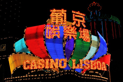 Casino en Macao, China