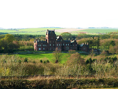 Ayton Castle from Cocklaw