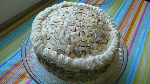Vegan Buttered Almond Cake