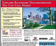 Live Baltimore ad (Express)