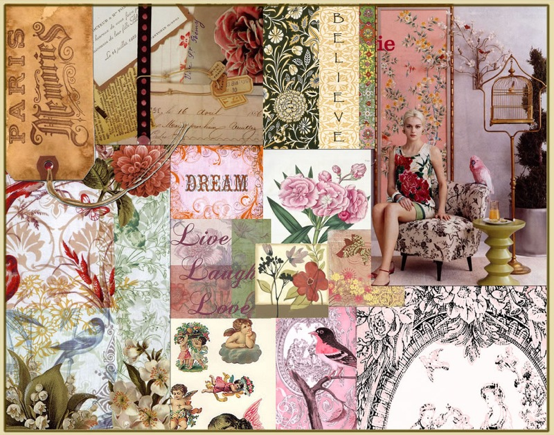 textile mood boards
