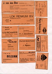 Renkum Advertenties in clubblad RZC Richard Delsink Lok e a Collectie Fien Bos (Historisch Genootschap Redichem) Tags: renkum advertenties clubblad rzc richard delsink lok e collectie fien bos