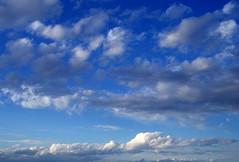 Nubes (I) (.Bambo.) Tags: blue sky storm azul clouds atardecer grey gris cielo nubes tormenta lovelyclouds