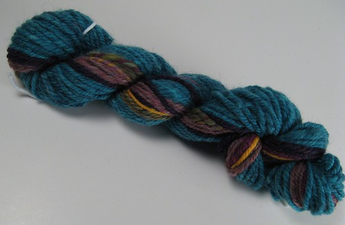 Hand dyed Navajo plyed