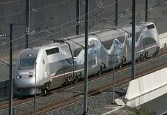 Rame spéciale du TGV
