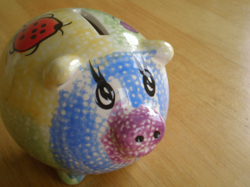 piggy bank french in london