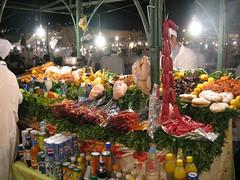 Brochette stall