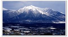 Hokkaido Japan (AhRay) Tags: 20fav 10000views japan travel hokkaido snow mountain 十勝 北海道 日本 tokachi kamikawagun ahray