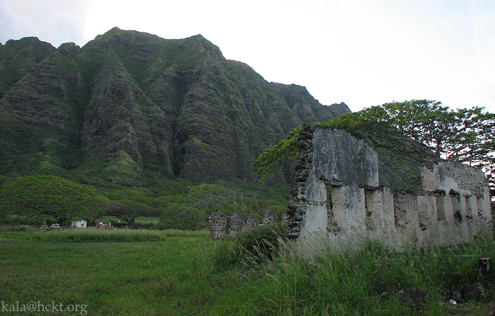 Kualoa Sugar Mill