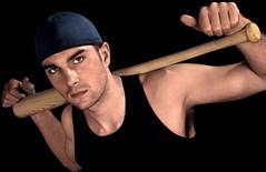 baseball (Violentz) Tags: portrait man male guy baseball bryce