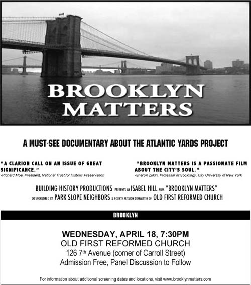 Brooklyn Matters Posterx500