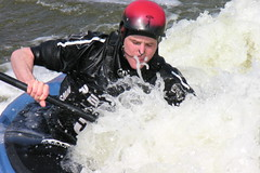 White Water Slalom Course (Cyberslayer) Tags: nottingham greatbritain white water whitewater kayak watersports rapid slalom holmepierrepont nationalwatersportscentre slalomcourse