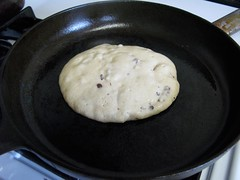 Nutty Pancakes- dry on edges and ready to flip.jpg