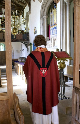 North Cerney, Gloucestershire - vestments