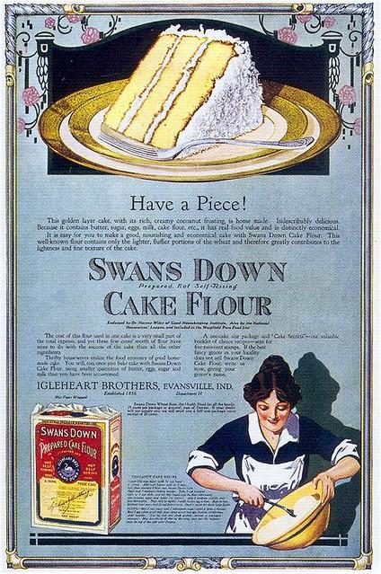 Swans Down Cake Flour, 1917