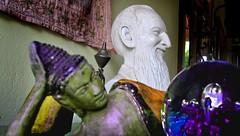 Buddha and Pad Sebastião