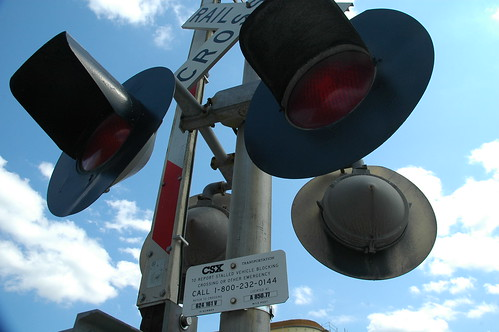 CSX Railroad Crossing Lights