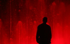 redruM silhouettE (Anima Fotografie) Tags: light red fountain silhouette night spain bravo nite exciting salou steiner62 bronly abigfave artlibre wowiekazowie anarchisticsouls