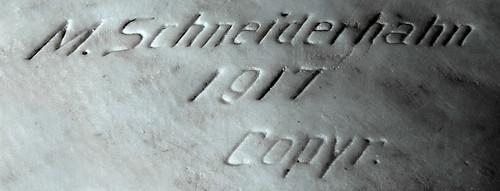 Signature of Maximilian Schneiderhahn