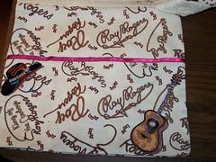 Cowgirl side of Wedding/Cowgirl Bag