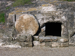 Not Jesus' tomb, but a tomb none the less.