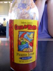 Casa de Waffle picante sauce
