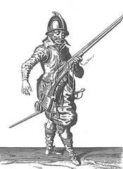 Harquebusier (Jacob de Gheyn)