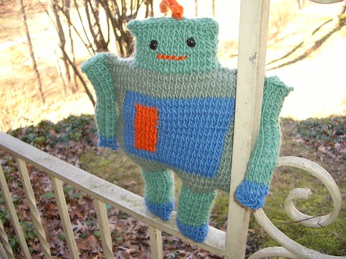 my knit robot.
