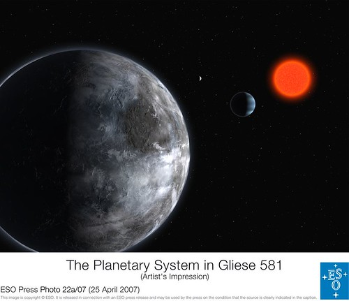 new planet discovered 2010 around gliese 581