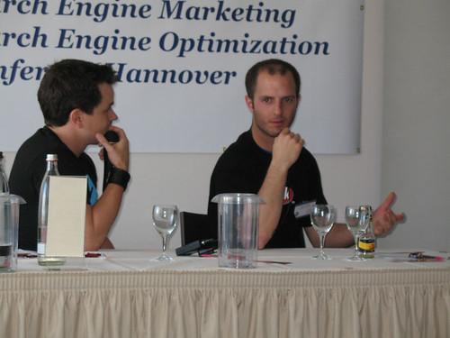 Mediadonis und Thomas Bindl bei der SEO-Klinik.