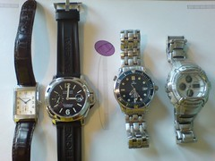 D's Collection (with my G-Shock at the end)