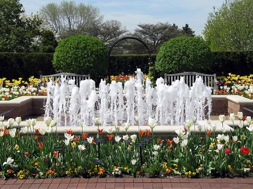 Circle Garden Fountain
