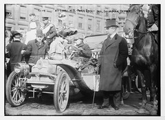 No Known Restrictions: New York - Paris race drivers from the Bain Collection, 1908 (LOC)