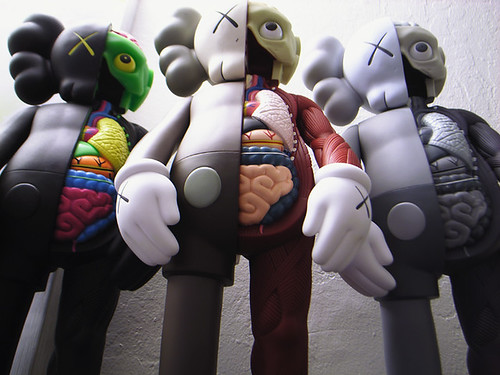 Kaws Original-Fake Dissect Companions by howie221.
