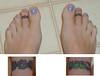 Tattooed Toes (Kerrie Lynn Photography (Sugaree_GD)) Tags: feet tattoo toes toe tattoos views 1000 sugareegd