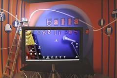 Ho bucato lo schermo :-) (marcomagrini) Tags: tv screen transparent