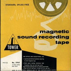 Tower Magnetic Tape box