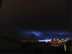 Storm animation (Lolo_) Tags: sky storm movie marseille animation gif lightning thunder orage clair
