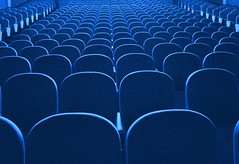 The theatre (horstgeorg) Tags: blue light italy art bravo theater chairs theatre perspective goldenphotographer superhearts