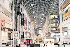 Eaton Centre (Christopher Chan) Tags: travel toronto ontario canada retail canon shopping northamerica 1785mm eatoncentre 30d