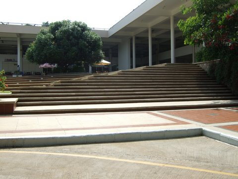 Library and Amphitheatre