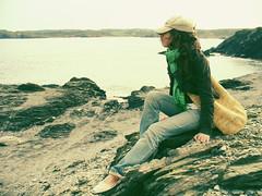 Antao sirena (Sator Arepo) Tags: sea portrait espaa nature stone atardecer evening coast spain rocks solitude mediterranean loneliness retrato panasonic cap marta casual menorca rocas baleares balearicislands balearic lz2 sator arepo satorarepo menorquinas