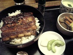 松木屋のうな丼