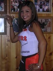 Ali Poses (BuccaneerBoy) Tags: hot beautiful allison florida hooters ali babes stunning alison prettygirls clearwater hootersgirls originalhooters