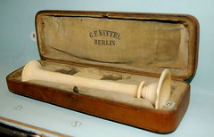 Ivory Stethoscope at the Semmelweiss Medical Museum - by Curious Expeditions
