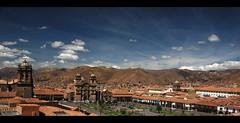 Qosco (MarcoIE) Tags: travel viaje blue panorama color tourism peru azul cuzco trekking highlands colorful cityscape outdoor hiking panoramic viajes 169 turismo incas highaltitude wideview qosco