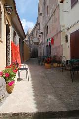 a street in sardinia