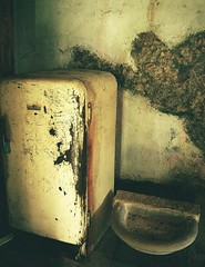 self preservation: the ice age (hanna.bi) Tags: old fridge rust refrigerator mould cellar hannabi ultimateshot goldenphotographer