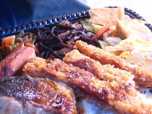 5.19午餐-雞排便當